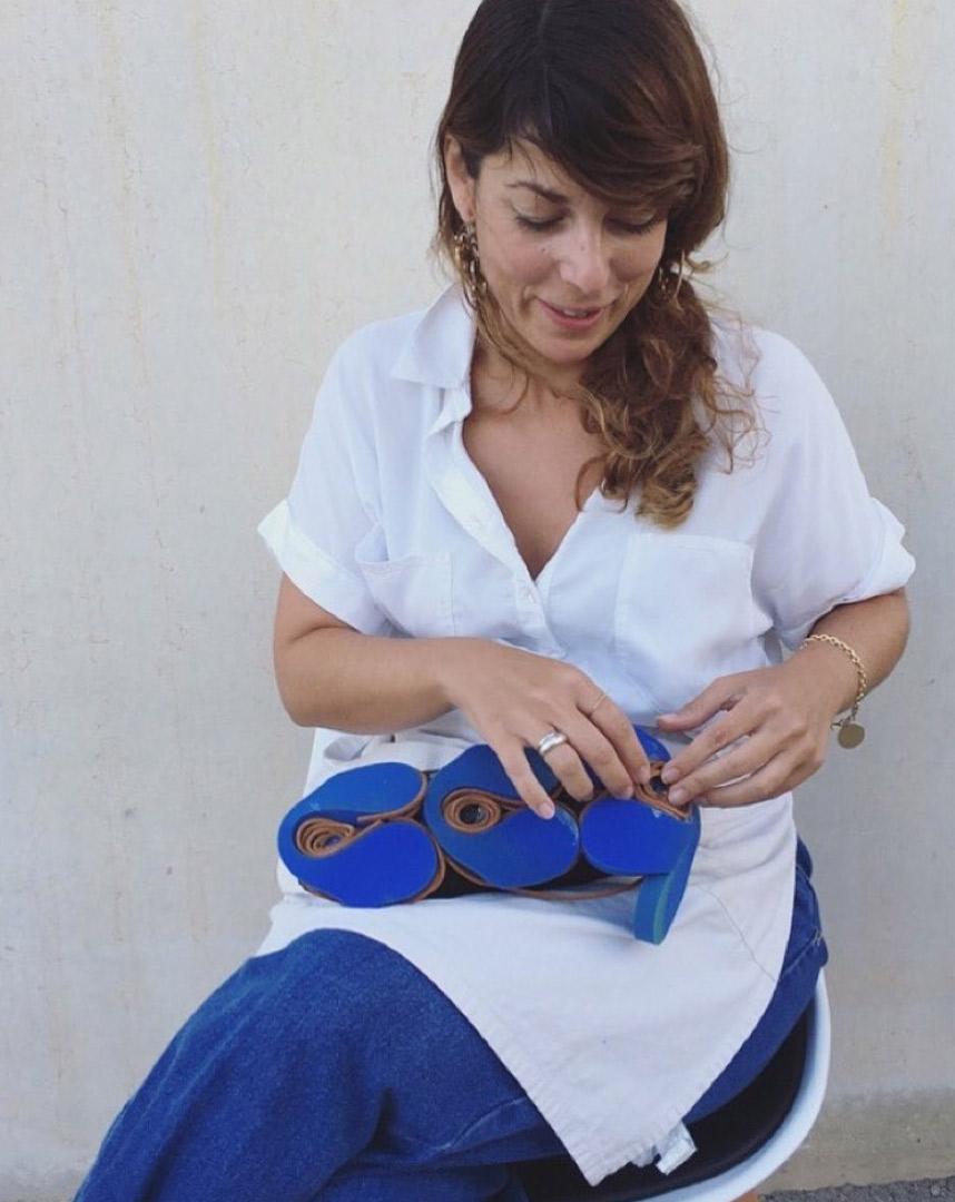 irene brotons diseñando calzado sostenible
