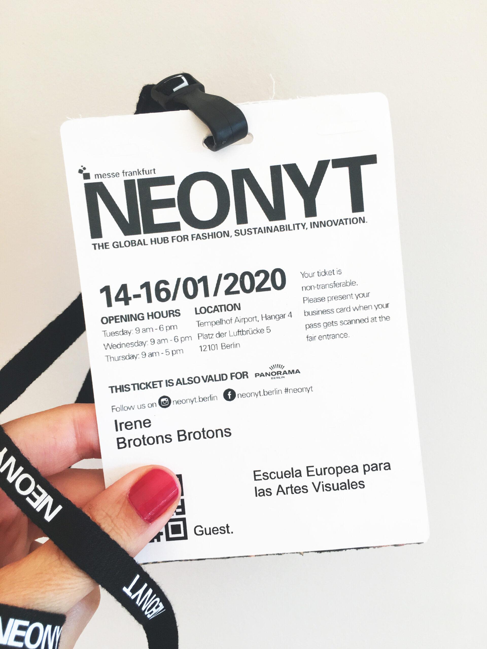 Diseño de Calzado Sostenible Feria Neonyt Irene Brotons